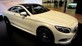 Download 2015 Mercedes S-Class Coupe S500 - Exterior, Interior Walkaround - Debut at 2014 Geneva Motor Show Video