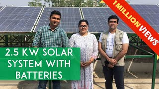 Download Real Life Energy Independence : 2.5 kW Solar System | Electric Scooters run on the Sun Video