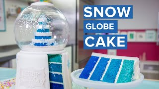 Download SNOW GLOBE CAKE! | Holiday Baking | How To Cake It Video