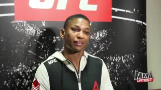 Download Angela Hill speaks on her incredible battle with Jessica Andrade and what's next Video
