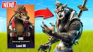 Download Fortnite *NEW* Werewolf Skin Evolution! (Fortnite Season 6 Gameplay - New Map, Skins & Pets!) Video