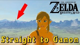 Download Going Straight to Ganon in Breath of the Wild (3 Hearts and Bad Gear) Video