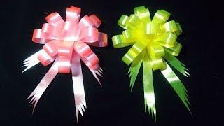 Download วิธีทำโบว์ ติดของขวัญ อย่างง่าย. แบบที่ 10 By JuneDIY Video