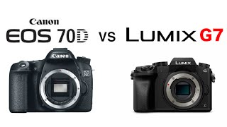 Download Panasonic G7 vs Canon 70D (Video Comparison) Video
