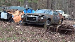 Download ″Honey Hole″ Field Find, Barn Find, Ratrods, 63 Impala, Old Coupes, Parts ″Hotrod″ Ronnie Video