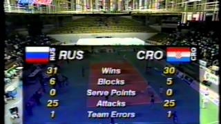 Download 1997 European Volleyball Championship Russia - Croatia Video