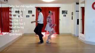 Download Whitey's First Stops | Lindy Hop | Level 6 Lesson 2 | Shauna Marble | ″Stops″ Routine Video