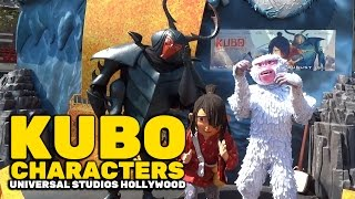 Download ″Kubo and the Two Strings″ characters meet and greet at Universal Studios Hollywood Video