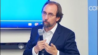 Download In conversation with outgoing UN Human Rights Chief Zeid Ra'ad Al Hussein Video
