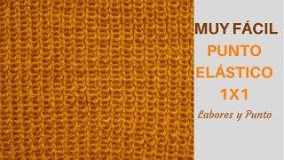 Download Como tejer punto elastico 1x1 a dos agujas- Labores y Punto Video