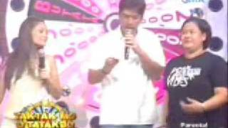 Download Francis Magalona Nagparamdam? Eat Bulaga's Itaktak Mo segment 03/06/2009. Video