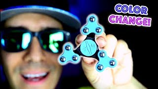 Download Top 7 RARE Fidget Spinners! CHANGES COLOR AND FOLDS! Cool Edc Hand Spinner Video