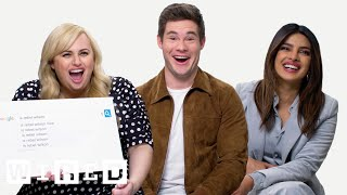 Download Priyanka Chopra, Rebel Wilson & Adam Devine Answer the Web's Most Searched Questions | WIRED Video