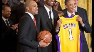 Download President Obama Welcomes the Los Angeles Lakers Video