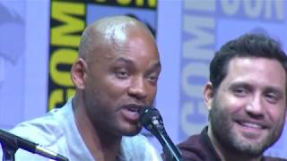 Download Netflix Bright Cast Panel At San Diego Comic Con 2017 #SDCC Video