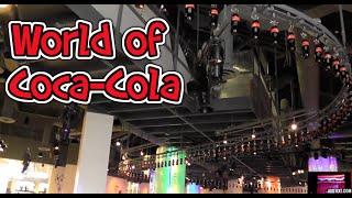 Download INSIDE World of Coca Cola Museum Atlanta Georgia HD Video