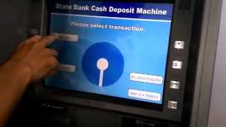 Download How To Deposit Cash easily in SBI Cash Deposit Machine Video