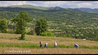 Download Maramureș, Romania: Traditional Farm Life Video