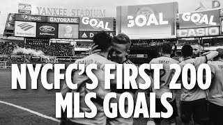 Download NYCFC's First 200 MLS Goals Video