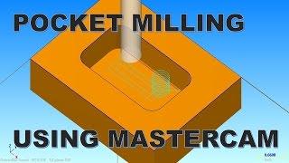 Download POCKET MILLING USING MASTERCAM Video