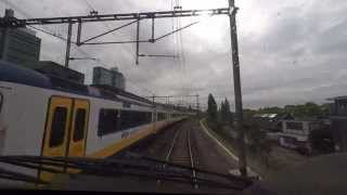 Download [cabinerit] A train driver's view: Alkmaar - Maastricht, VIRM, 27-May-2015. Video