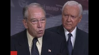 Download Republican Senators EXPLOSIVE Press Conference on Brett Kavanaugh FBI report 🔴 Video