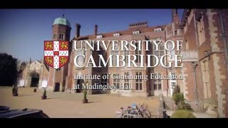 Download Studying at the University of Cambridge Institute of Continuing Education Video