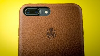 Download Nodus Shell Case for iPhone 7 Plus - Review - Best leather iPhone case! Video