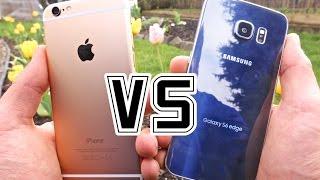 Download Samsung Galaxy S6 Edge VS iPhone 6 - Full Comparison Video