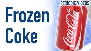 Download Can of Coke in Liquid Nitrogen - Periodic Table of Videos Video