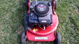 Download Snapper 21″ 5HP Quantum Briggs & Stratton Lawn Mower Rusted Out Frame - March 10, 2014 Video