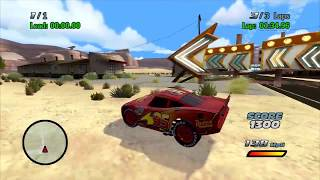 Download Crash Mcqueen VS Cars Road to the Piston Cup - Cars 1 the Movie Game 360 w Cheats [7] - Sneak JR Video
