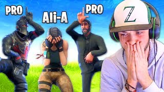Download I got *BULLIED* by PRO Fortnite players... Video
