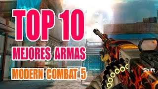 Download TOP 10 Mejores Armas Modern Combat 5 | NO PRO Video