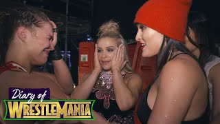 Download RONDA ROUSEY'S EMOTIONAL CELEBRATION with The Bella Twins - Diary of WrestleMania Video