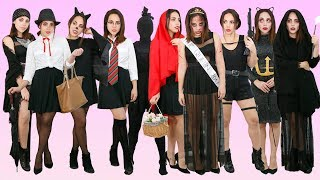 Download 10 DISFRACES CON UN VESTIDO NEGRO (DE ÚLTIMO MINUTO) | What The Chic Video