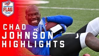 Download Chad Johnson Flag Football Highlights: Ochocinco tries to lead team to the Ultimate Final | NFL Video