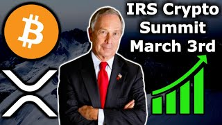 Download XRP Selling by Jeb McCaleb - Mike Bloomberg Crypto Regulations - IRS Crypto Summit - BitGo Harbor Video