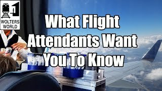 Download 17 Things Flight Attendants Want You to Know Video