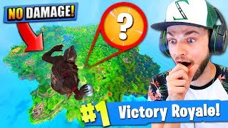 Download Falling at *MAX* HEIGHT - Can a PORT-A-FORT save you? - Fortnite: Battle Royale! Video