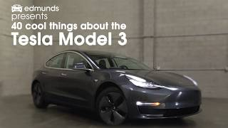 Download 40 Cool Things About The Tesla Model 3   Edmunds Video
