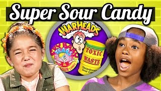 Download KIDS vs. FOOD - SOUR CANDY CHALLENGE Video