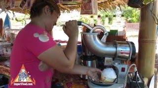 Download Shaved Ice Thai Street Vendor - Snocones Video