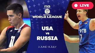 Download USA v Russia - Group 1: 2017 FIVB Volleyball World League Video