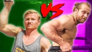 Download WHO BUILDS STRONGER ARMS? PRO CLIMBER VS BODYBUILDER Video