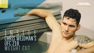 Download Inside Chris Weidman's Final UFC 210 Weight Cut - MMA Fighting Video