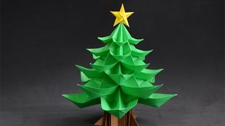 Download Origami: Christmas Tree Video