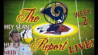 Download The Redskins Report LIVE! Ep 17.2 | Eagles Fly Victoriously Over FedEx | Wk 2 MUST WIN vs. Rams Video