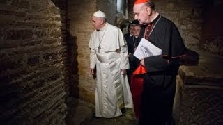Download Relic of St. Peter's Bones Displayed At Pope's Mass Marking End Of Year Of Faith Video