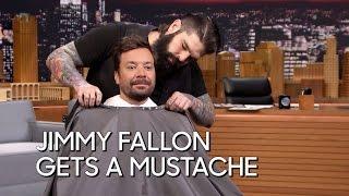 Download Jimmy Fallon Gets a Mustache Video